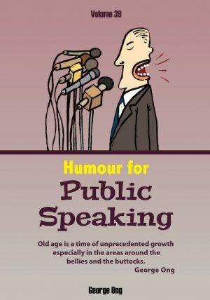 Ebook Volume 39 Humour for Public Speaking