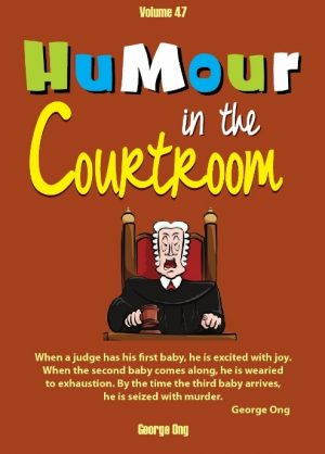 Ebook Volume 47 Humour in the Courtroom