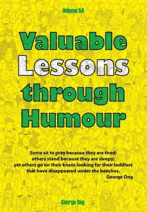 Ebook Volume 54 Valuable Lessons through Humour
